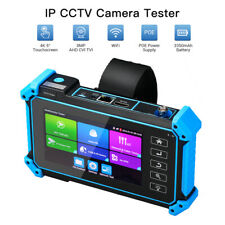 5 pollici 8MP fotocamera IPC Tester Touch Screen ONVIF POE PTZ output 12V LCD 4K H.265