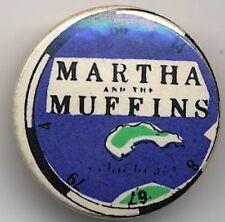 Martha & The Muffins Badge Button #3CONTORT
