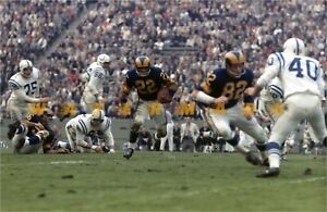 """LA RAMS DICK BASS """"RED"""" PHILLIPS v. COLTS 12/09/61 PRINT  (comes 4 sizes)"""