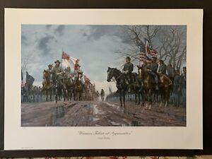 Dale Gallon Warriors' Tribute at Appomattox print #735 of 950
