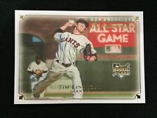 TIM LINCECUM ROOKIE 2007 UD MASTERPIECES SF GIANTS RC BASEBALL CARD