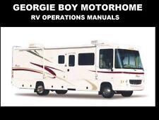 GEORGIE BOY 1990-2004 MOTORHOME MANUALs 410 pg for 1999 2000 RV Service & Repair