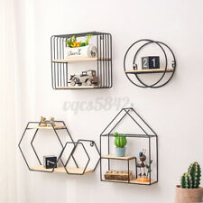 Wall Mounted Hanging Shelf Display Rack Storage Shelves Living Room Home Decor