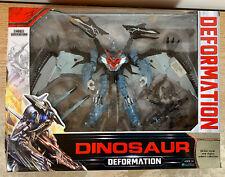 "Deformation Action Figure 8"" Dinosaur Gray Transform Toy"