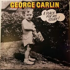 """George Carlin """"A Place For My Stuff"""" 1981 Vinyl LP"""