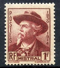 STAMP /  TIMBRE DE FRANCE NEUF N° 495 * FREDERIC MISTRAL