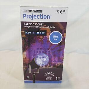 Gemmy Lightshow Kaleidoscope Icy Blue LED RGB Projection Light 88619