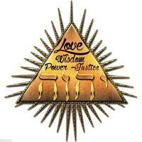 YHWH Triangle T-Shirt Tank. Black or White. Hebrew Jewish God Jehovah Spiritual