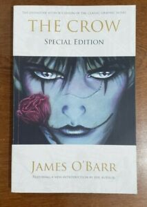 THE CROW Special Edition TPB GN SC OOP James O'Barr 2011 Gallery Books 1st Print