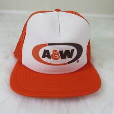 Vintage A&W Snapback Trucker Hat