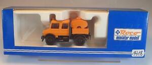 Roco 1/87 Nr. 1668 Unimog DK & Tank Pritsche OVP #1418