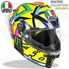 CASCO INTEGRALE RACING MOTO AGV PISTA GP R CARBONIO VALENTINO ROSSI 46 SOLELUNA