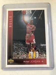 1993-94 Upper Deck ~ Michael Jordan #23 ~ Chicago Bulls