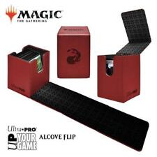 MAGIC ALCOVE FLIP DECK BOX RED with a Flame
