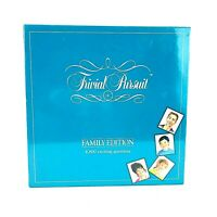 Vintage 1992 Trivial Pursuit Family Edition Board Game NEW SEALED Parker