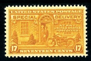 USAstamps Unused XF-S US Special Delivery Scott E18 OG MNH