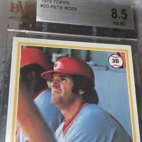 1978 Topps Pete Rose BGS 8.5 NM-MT+  🐐 🔥