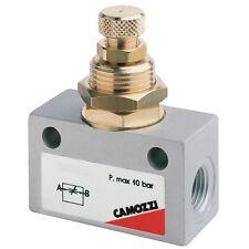 Flow Control Needle Valve Bi Directional 1/8bspp Air Pneumatic