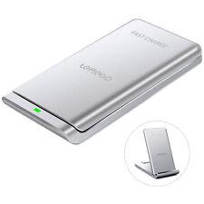 Tragbar 10W 3 Spulen Qi Wireless Ladegerät Ladestation Samsung S8 iPhone X 8 +