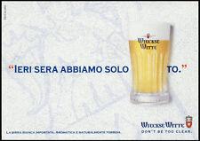 cartolina pubblicitaria PROMOCARD n.3746 WIECKSE WITTE BEER BIRRA