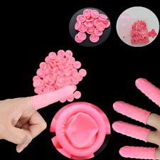 Disposable Latex Rubber Finger Cots Sets Fingertips Protector Gloves 100-130pcs