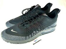 6c9ef9d7503 Nike Air Max Sequent 4 Shield Men s AV3236 001 Black Grey Utility Shoes  Size 9.5