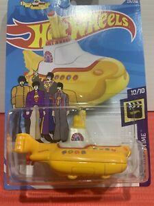 Hot Wheels The Beatles Yellow Submarine TREASURE HUNT