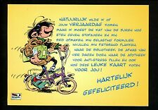 Bicycle postcard Comic Guust Flater  mail carrier