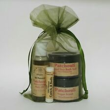 The Elder Herb Shoppe 5 Piece Bath & Body Care Gift Set - Patchouli All Natural