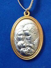 Rare Most HOLY FAMILY ORNAMENT Saint Medal BOXED Jesus Virgin Mary St. Joseph