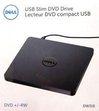 /'DELL DW316 EXTERNAL USB SLIM DVD R/W OPTICAL DRIVE BLACK 429-AAUX