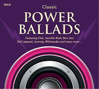 CLASSIC POWER BALLADS 54-trk 3xCD album NEW/SEALED Cher Tina Turner