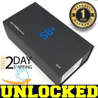 Samsung Galaxy S8+ PLUS G955U1 64GB Midnight Black (FACTORY UNLOCKED) ❖O/B❖(w)