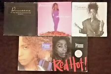 "Princess 5 x 7"" Singles, Tell Me Tomorrow,I Cannot Carry On,Red Hot+more"