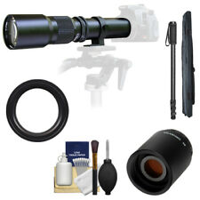 Samyang 500mm 1000mm Telephoto Lens for Sony SLT-A35 A37 A55 A57 A65 A77 Camera