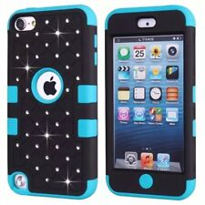 Hybrid Bling Glitter Case Cover For Apple iPod Touch 7th 6th & 5th Generation