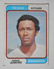 1973 #87 Topps Fergie Jenkins Texas Ranger