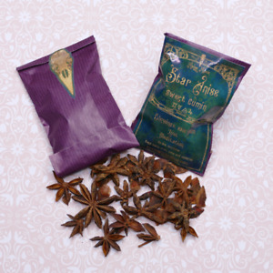 Star Anise organic apothecary herb, witchcraft, magical, juju, witch spellcraft