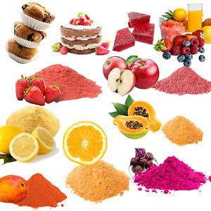 Freeze Dried Fruit & Vegetable Powders Strawberry & Lemon Smoothies 20 Types 50g
