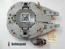 Lego Star Wars Millennium Falcon Set 7190 Ship Only No Minifigs 2000 No Instr.