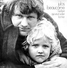 """JULOS BEAUCARNE - LP 33 -  RCA 7281 - """"L'ENFANT QUI VEUT VIDER LA MER"""" -  1976"""