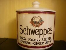 Genuine Heavy Schweppes Ice Bucket VGC .