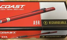 Coast A9R Rechargeable Penlight Red