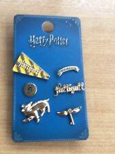 Harry Potter Hufflepuff Metal Pinbadge Set
