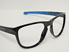 Authentic Oakley OO9342-12 Sliver Round Black Blue Sunglasses Frame $245