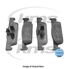 New Genuine MEYLE Brake Pad Set 025 257 0217 Top German Quality