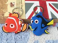 2pcs Finding Nemo fish silica gel key chain key chains ornament pendant new