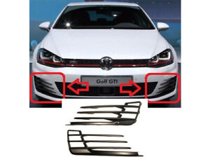Volkswagen Golf 7 GTI Bumper Grille Fog Light Cover Left And Right MK7 2013-2017