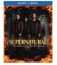 SUPERNATURAL SEASON 12 Blu-ray + Digital HD NEW FREE SHIP! #Supernatural #Horror