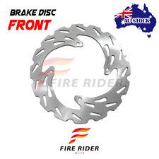 AU Front MX Brake Disc Rotor For HONDA XR 600 R91-00 92 93 94 95 96 97 98